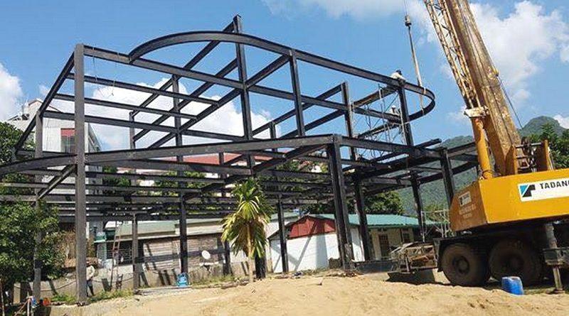 Nhà khung thép lắp ghép - Lựa chọn mới cho các công trình xây dựng