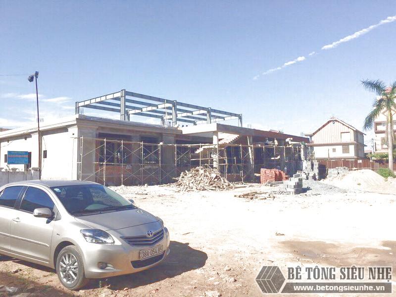 Nhà khung thép, sàn panel nhẹ và tấm tường bê tông nhẹ: Bộ 3 hoàn hảo cho mọi công trình
