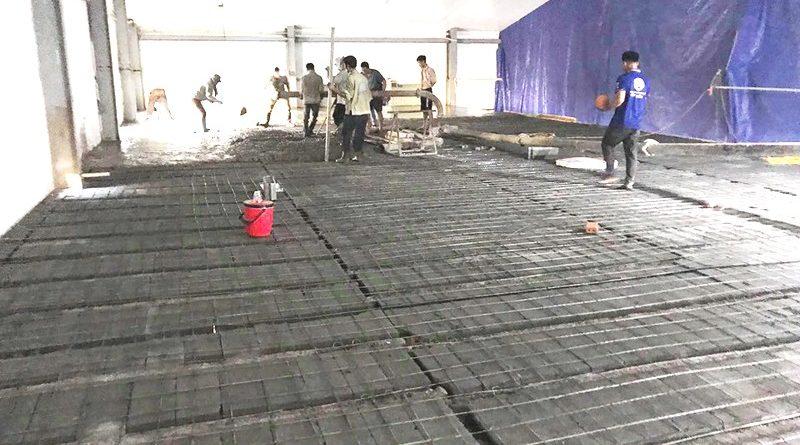 Thi công bê tông nhẹ Xuân Mai làm sàn