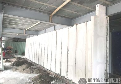 Làm nhà khung thép, sàn bê tông nhẹ và xây tường nhẹ tại Hà Đông, Hà Nội