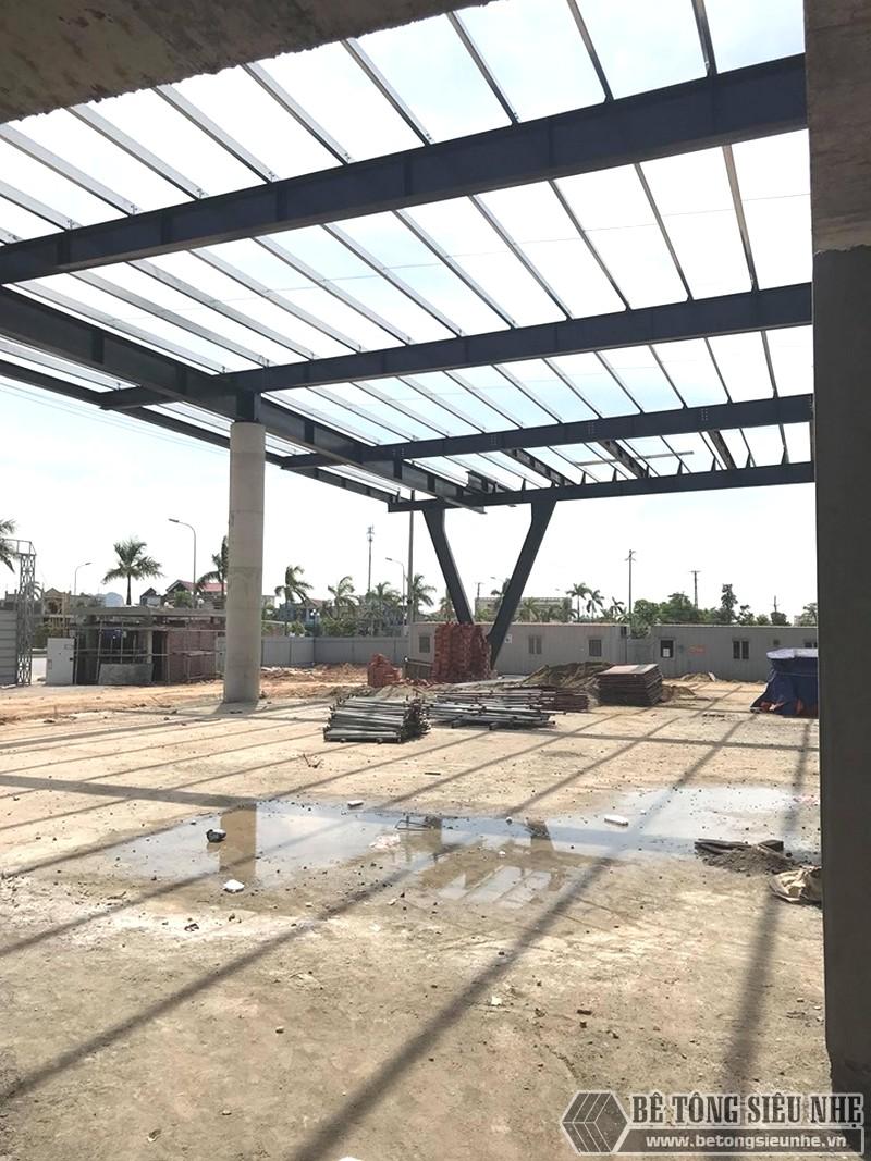 Thi công khung thép tiền chế làm gara ô tô tại Thanh Hóa - 05