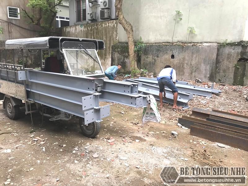 Nâng tầng bằng khung thép tiền chế, sàn nhẹ tại Tây Hồ, Hà Nội - 05