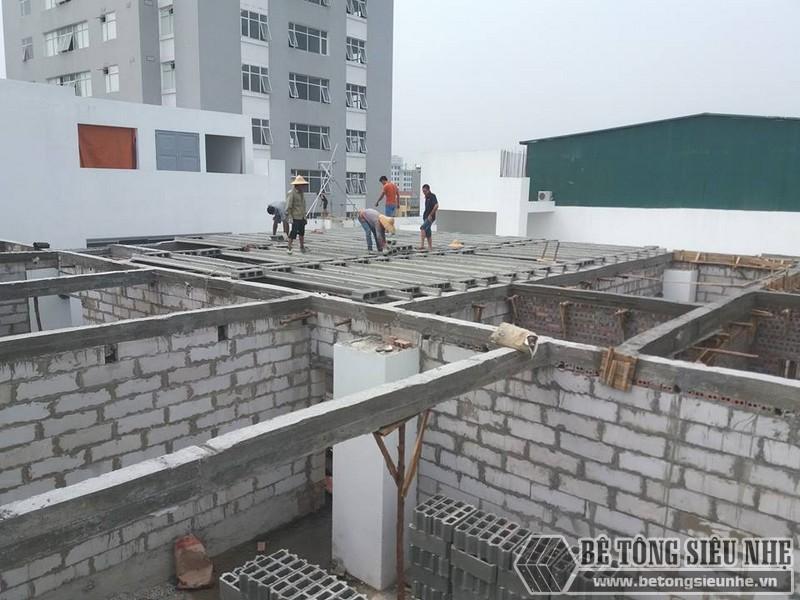 Gạch nhẹ được ứng dụng để xây tường thay cho gạch đỏ truyền thống