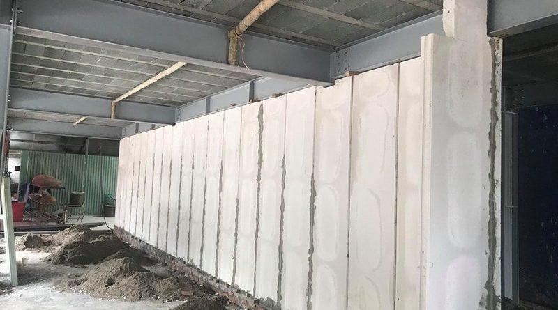 Giá tấm tường bê tông nhẹ theo m2? Báo giá và thi công trọn gói