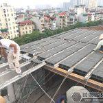 Đơn vị thi công sàn bê tông nhẹ, nhà khung thép uy tín nhất Hà Nội