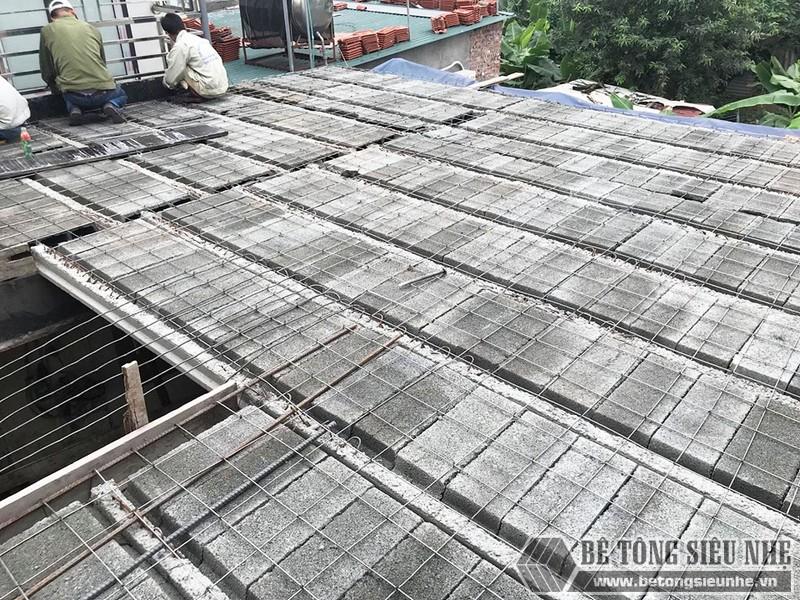Mẫu xây nhà lắp ghép bằng bê tông nhẹ kiểu 1