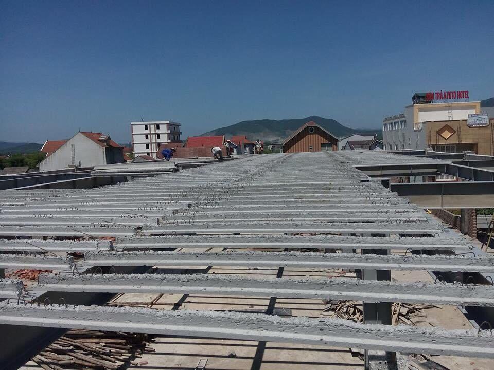 Xây nhà bằng bê tông siêu nhẹ giúp rút ngắn thời gian hoàn thiện công trình