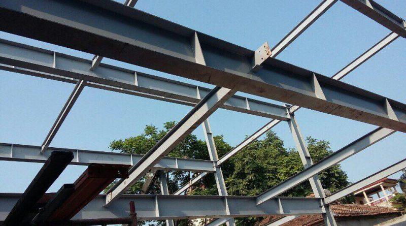 """Xây nhà bằng hệ khung thépkết hợp với sàn bê tông siêu nhẹ và tấm tường panel nhẹ hiện đang là """"bộ 3 hoàn hảo"""" cho mọi công trình"""