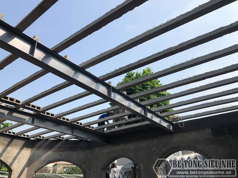 Hệ khung thép kết hợp sàn bê tông nhẹ Xuân Mai là cặp đôi hoàn hảo cho mọi công trình