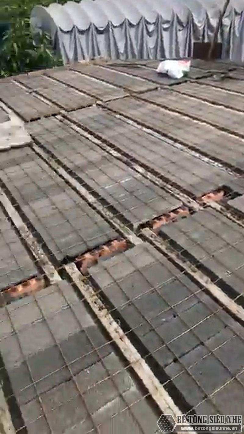 Một số hình ảnh thức tế về công tác buộc thép của sàn bê tông nhẹ Xuân Mai - 04