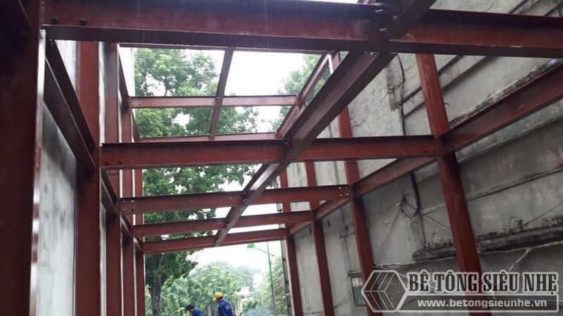 Báo giá thi công nhà khung thép tiền chế 2020