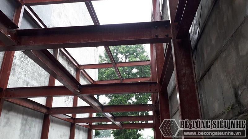 Dựng khung nhà thép - 02