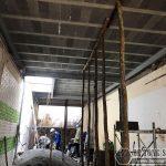 Nâng cấp 80m2 nhà cũ bằng khung thép và sàn bê tông nhẹ tại Tây Hồ cho nhà anh Cơ