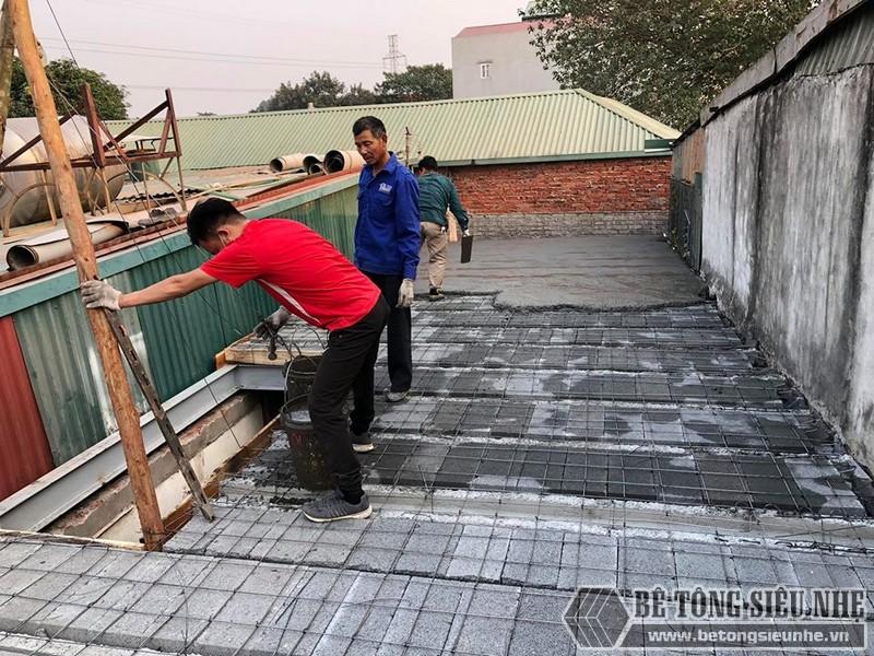 Nâng cấp nhà cũ nhanh chưa từng thấy nhờ kết hợp hệ khung thép và sàn bê tông nhẹ Xuân Mai