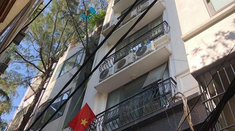 Bê Tông Siêu Nhẹ nâng cấp nhà phố bằng hệ khung thép và sàn bê tông nhẹ ở Trần Đại Nghĩa, Hai Bà Trưng cho nhà chú Phái - 01