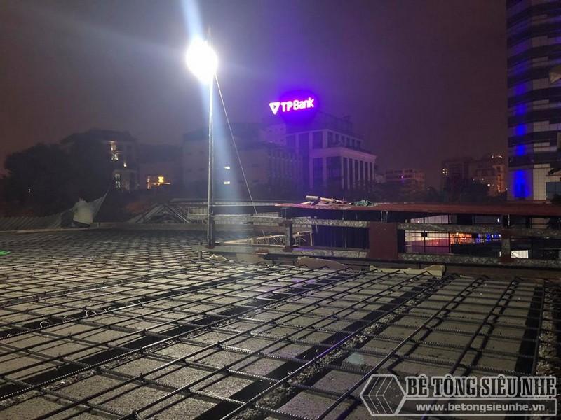 Xây nhà dân dụng thâu đêm bằng khung thép tiền chế và sàn bê tông nhẹ tại Yên Hòa, Cầu Giấy, Hà Nội - 10