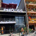 Chiêm ngưỡng hình ảnh hoàn thiện công trình kết cấu thép và sàn bê tông nhẹ cho Quán phở 69 ở thị xã Sapa