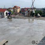 Hoàn thiện công trình cải tạo nâng tầng bằng sàn bê tông siêu nhẹ Xuân Mai
