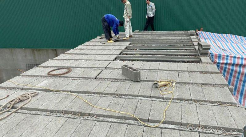 Sàn bê tông siêu nhẹ - vật liệu mới cơi nới nhà ở cho bạn