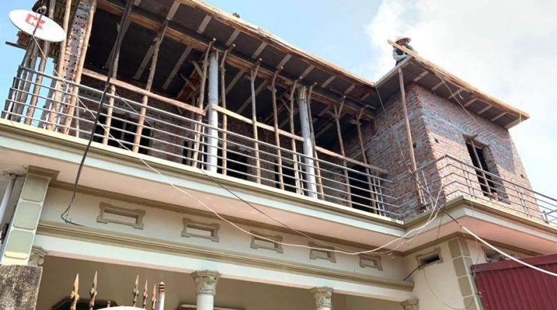 Nâng tầng, cải tạo nhà bằng vật liệu nhẹ