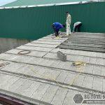 Hoàn thiện công trình lắp ghép sàn bê tông nhẹ Xuân Mai tại Hưng Yên