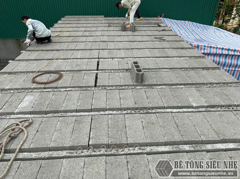 Sàn bê tông siêu nhẹ - vật liệu tối ưu để cơi nới nhà cửa