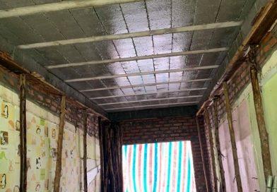 Lắp sàn bê tông siêu nhẹ tại Tân Mai, Hoàng Mai, Hà Nội: hoàn thiện công trình nâng tầng tại nhà anh Trung