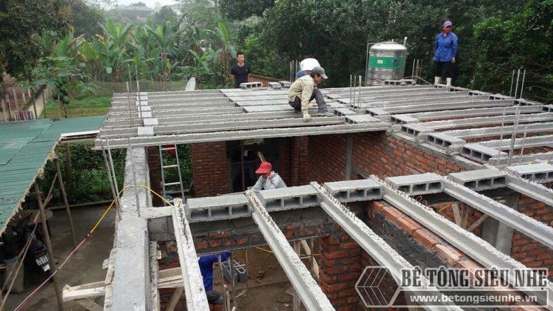 Đơn vị thi công bê tông nhẹ uy tín, chất lượng nhất tại Hà Nội