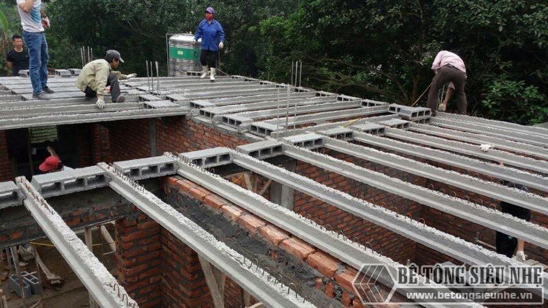 Xây nhà bằng vật liệu nhẹ - cách xây nhà nhanh nhất