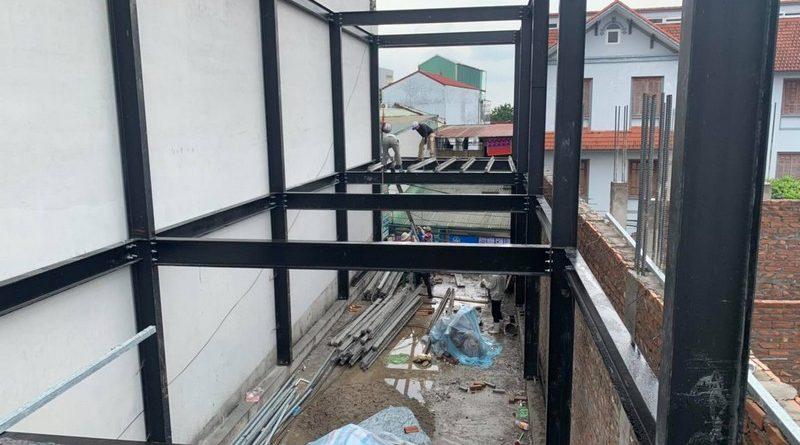 Đơn vị thi công nhà khung thép tiền chế trọn gói uy tín số 1 Hà Nội