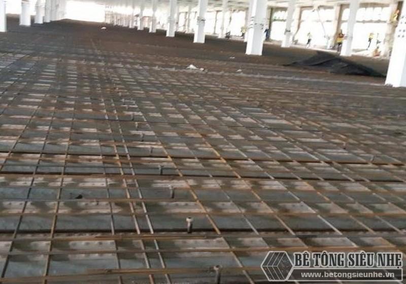 Các giải pháp sàn cho nhà khung thép tiền chế - sàn Deck đổ bê tông