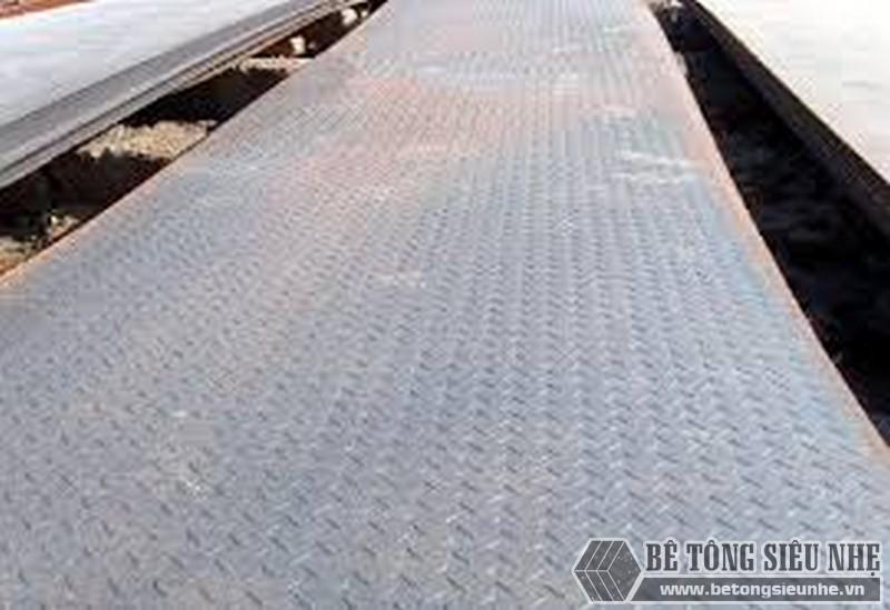 Các giải pháp sàn cho nhà khung thép tiền chế - sàn thép nhám