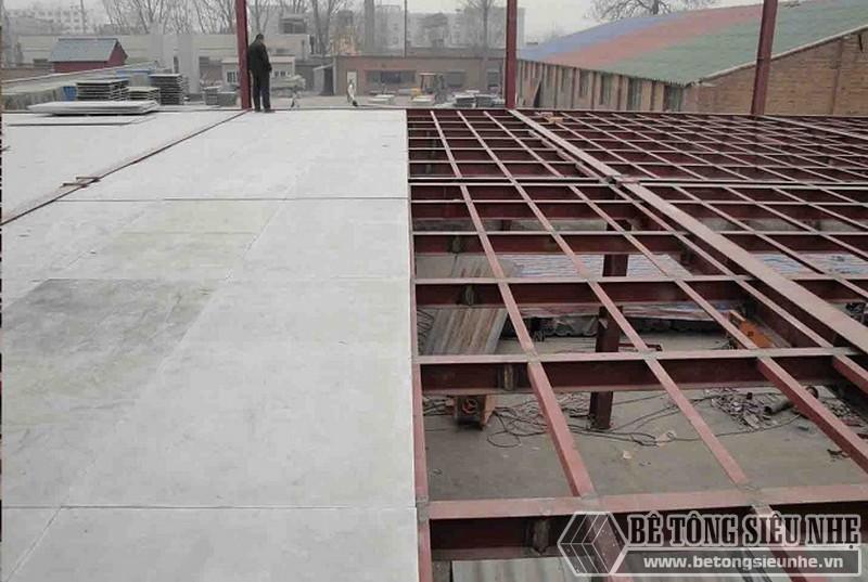 Các giải pháp sàn cho nhà khung thép tiền chế - sàn tấm xi măng Cemboard