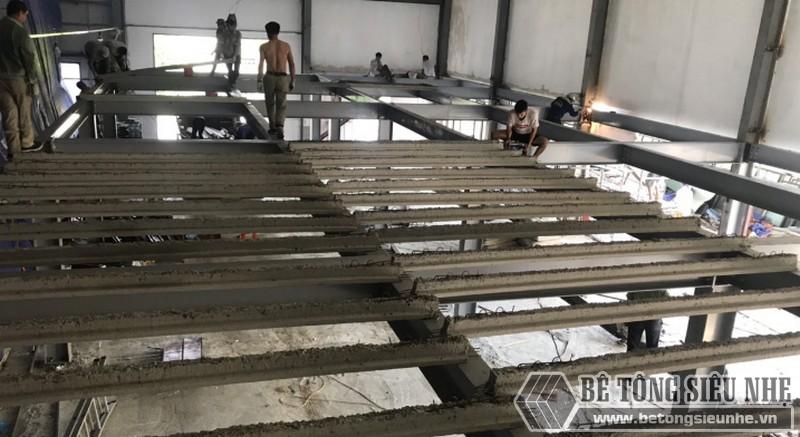 Hình ảnh dựng nhà khung thép cho xưởng may mới tại nhà anh Bắc, Nam Định - 02