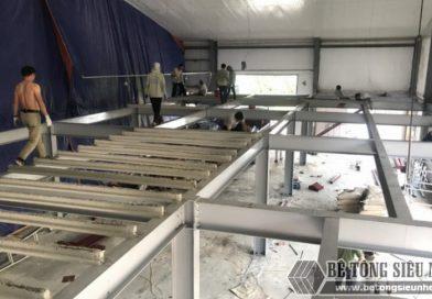 Hình ảnh hoàn thiện công trình nhà khung thép cho xưởng may tại Nam Định