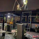 Lắp sàn bê tông nhẹ Hà Nội: hình ảnh thực tế tại quán cà phê nhà anh Hưng, Hoàn Kiếm