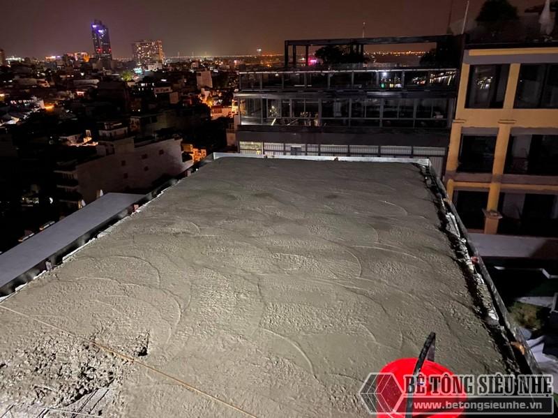 Lắp sàn bên tông nhẹ Hà Nội: hình ảnh thực tế tại quán cà phê nhà anh Hưng, Hoàn Kiếm - 05