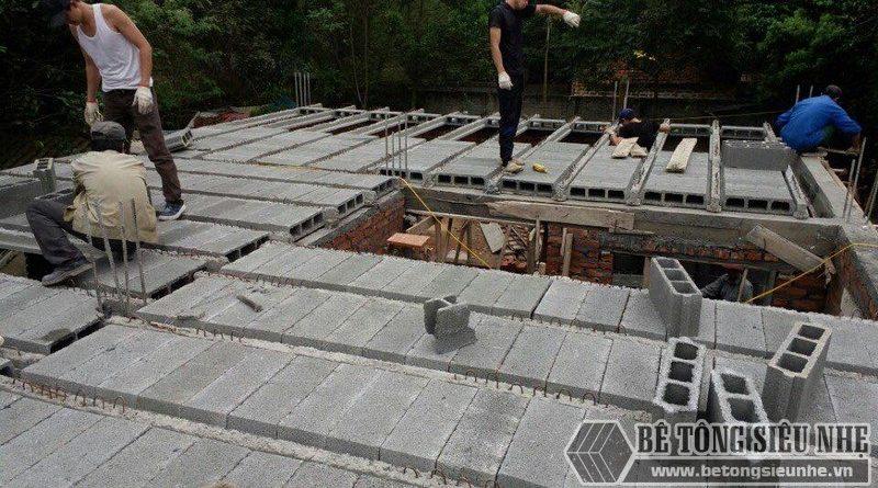 1m2 sàn bê tông nhẹ bao nhiêu tiền?