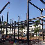 Nhà ống khung thép 2 tầng – Lựa chọn hoàn hảo cho nhà phố
