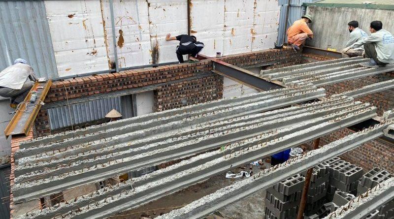 Xây tường nhà khung thép như thế nào không bị nứt