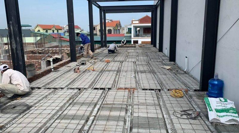 Sàn bê tông nhẹ Xuân Mai - Lựa chọn tốt nhất cho nhà khung thép