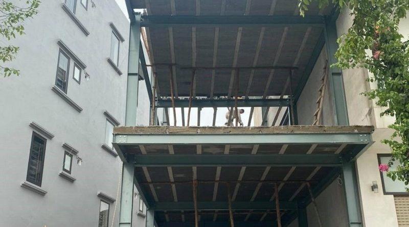 Quy trình thi công nhà khung thép bê tông nhẹ khác biệt hoàn toàn so với nhà truyền thống