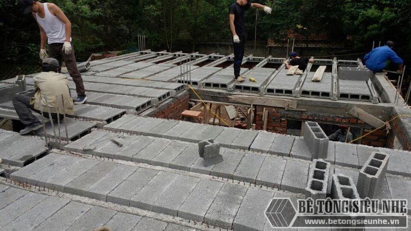 Sàn bê tông nhẹ Xuân Mai là sản phẩm tiên tiến, ứng dụng công nghệ hiện đại