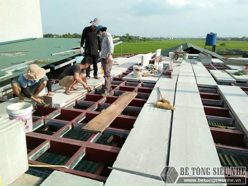 Bê tông xốp cốt thép nhẹ hơn, bền hơn